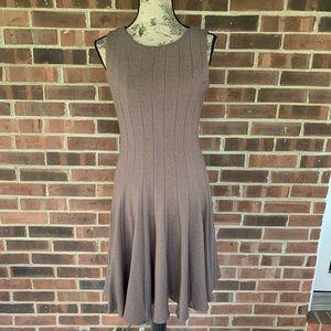 Calvin Klein brown sleeveless dress
